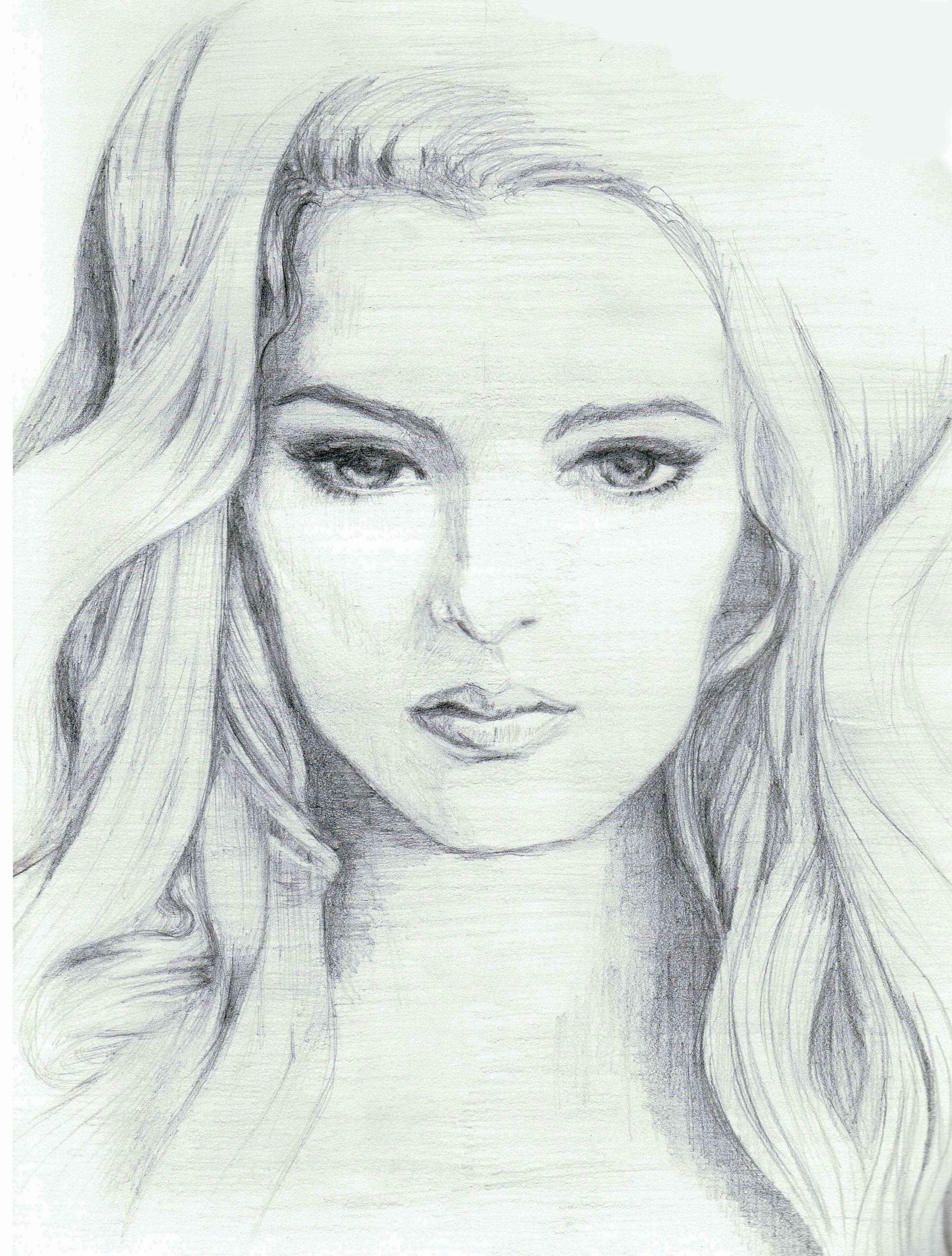 Woman Pencil Sketch : woman, pencil, sketch, Pencil, Drawing, Woman, Pencildrawing2019