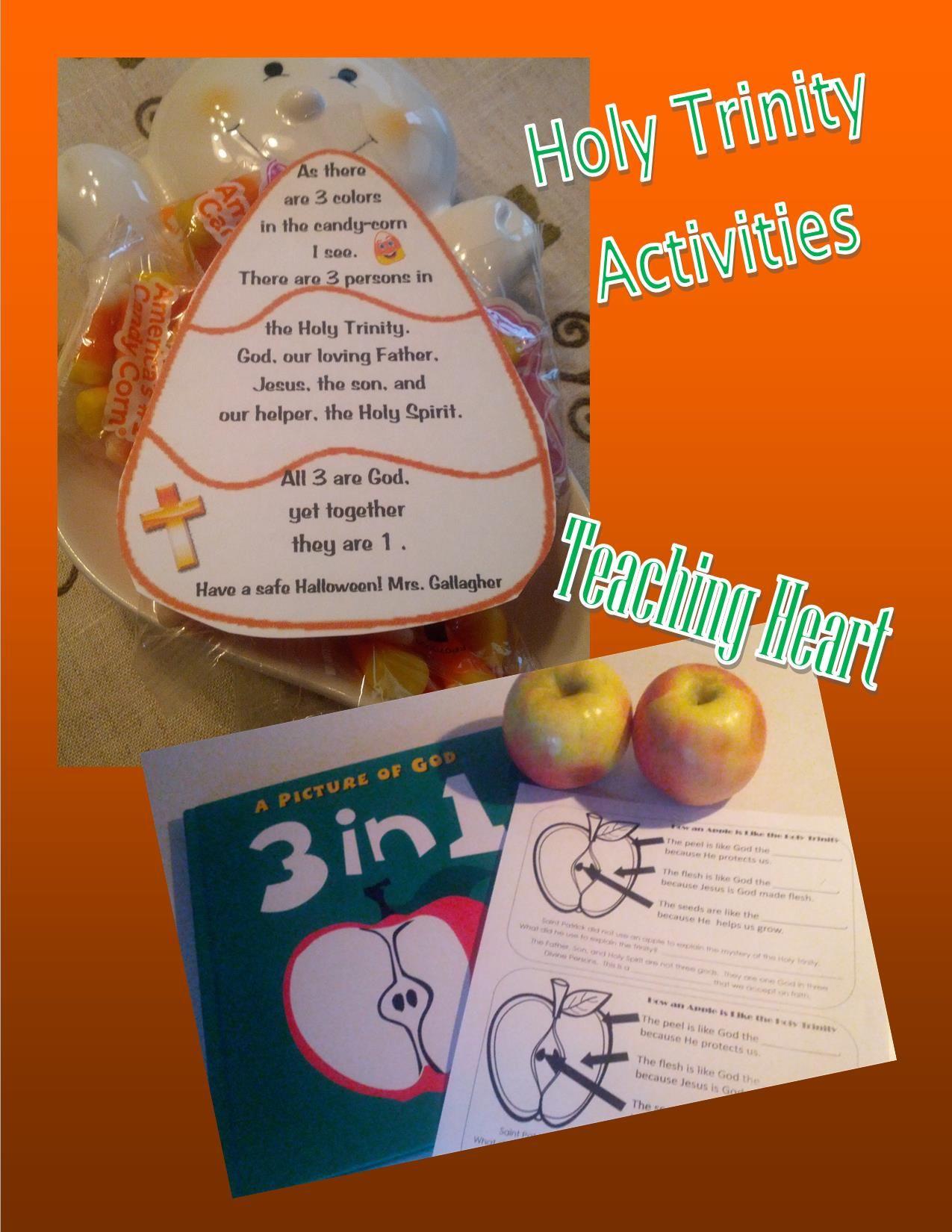 Trinity Trinity Activities From Teaching Heart