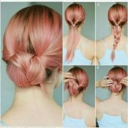 super easy updos medium hair