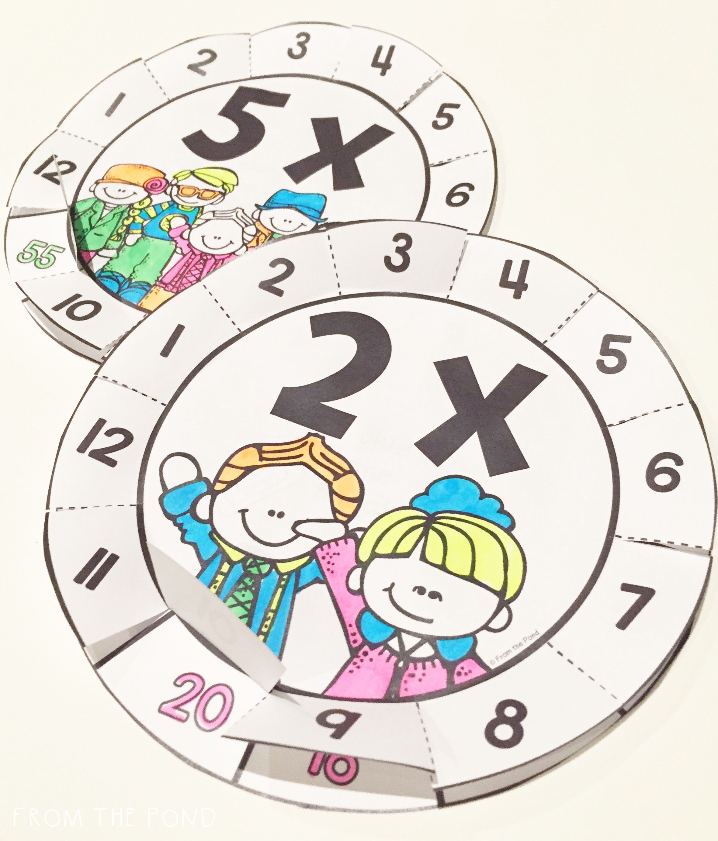 Multiplication Fact Activities