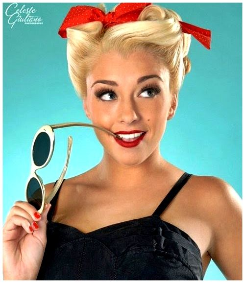 I Love The Pinup Girl Rockabilly Look Love The Hair And Makeup