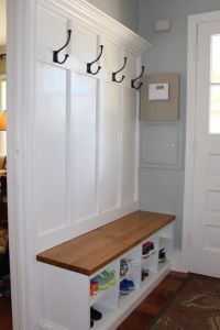 Best 25+ Coat rack with storage ideas on Pinterest | Plans ...