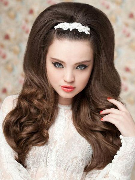 Early 60s Hairstyles For Long Hair Wedding Hairstyles For Long