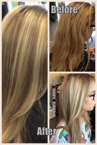 Balayage highlights over medium ash blonde base | Hair ...