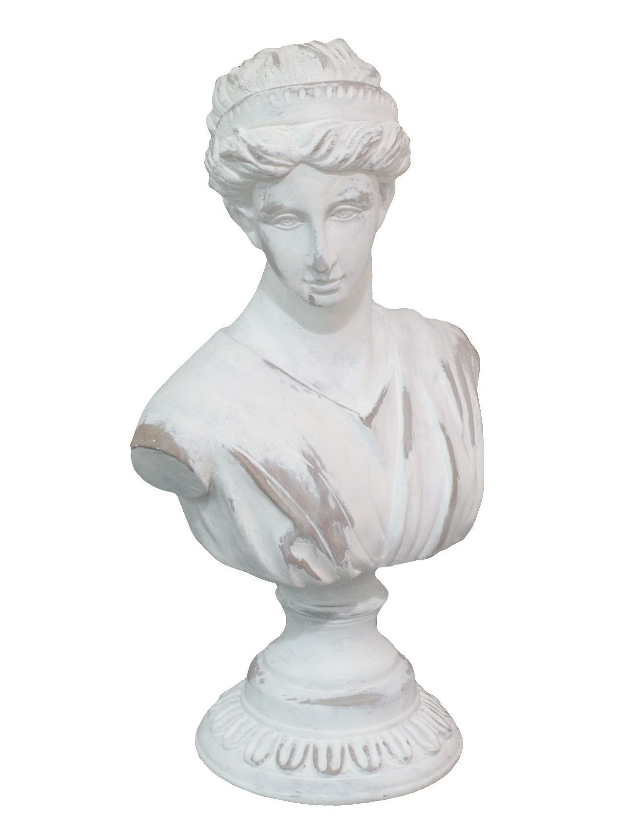 Superb Resin Bust Statue Decorating Your Home Decor And Stand For