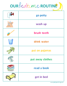 Kids bedtime routine chart printable also morning template rh autograph fandom