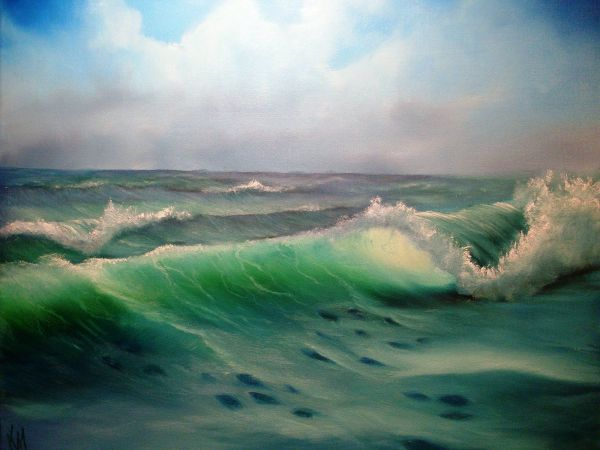 20 Waves Oil Painting Bob Ross Pictures And Ideas On Meta Networks