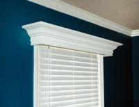 Ashton Custom Wood Cornice. Economical | Window cornices ...