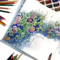 coloring inspiration The Secret Garden | Coloring Ideas ...