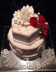 th birthday cake orange ricotta with french vanilla buttercream also rh pinterest