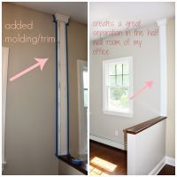 trim to divide a wall for painting - Google Search | Paint ...