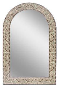 Earthtone Mosaic Arch - Bathroom Mirror | Bathroom Mirrors ...