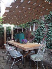 10 Creative DIY Outdoor Shady Space Ideas | Shade canopy ...