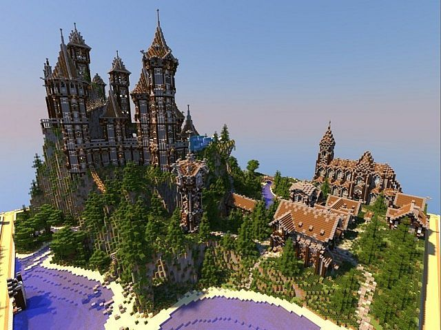 Castle Interior Design Minecraft