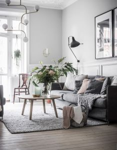 Get the look  calm swedish apartment also architecture and decor rh pinterest