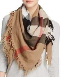 $Burberry Color Check Wool Scarf - Bloomingdale's   Fall ...