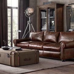 72 Lancaster Leather Sofa 300 Cm Breit Greatroom - Sofas (lengths 60