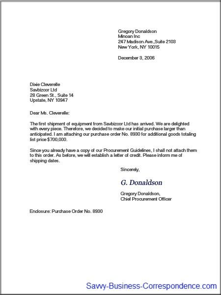 Modified Block Business Letter Format Business Letters