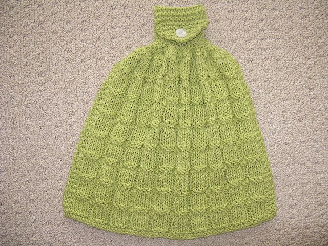 Cotton Knit Dish Towel Pattern