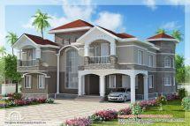 Floor Indian Luxury Home Design Kerala