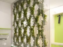 Really customize that green wall- Green Partition by Ann ...