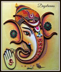 DAYDREAMS: Quilled Ganesha.   Quilling   Pinterest ...