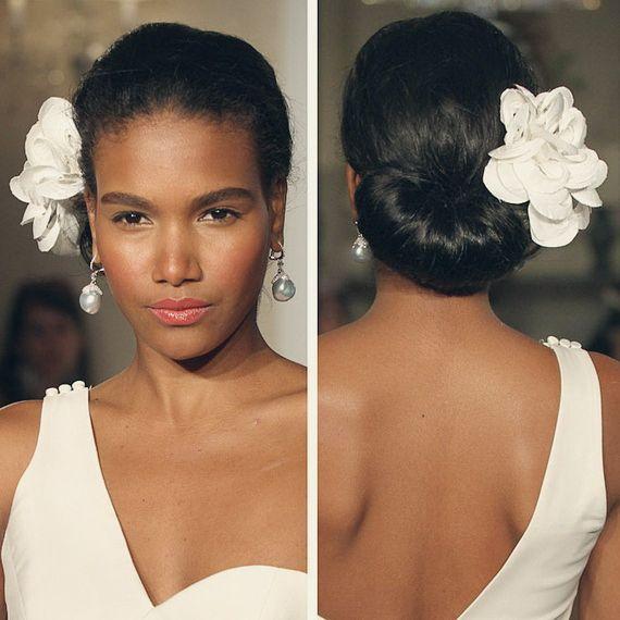 6 Fabulous Black Women Wedding Hairstyles In Fall 2013 Updo