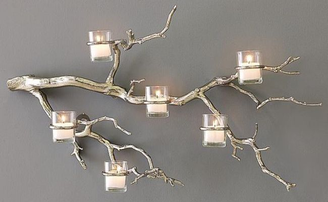 Tree Branch Wall Candle Holder Twig Candle Holder Tree