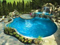 amazing backyards pools | Backyard Escapes with Gib-San ...