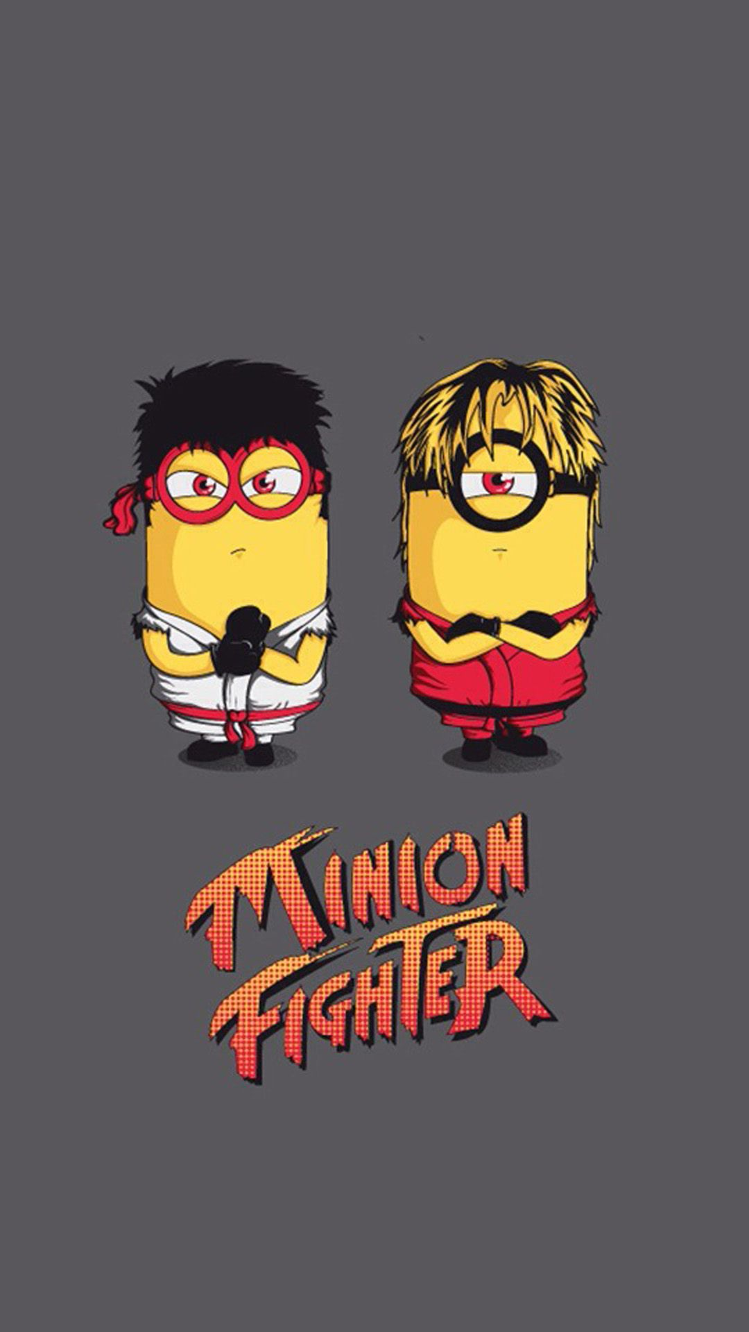 funny minion fighter hd wallpaper iphone 6 plus | wallpaper