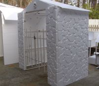 Styrofoam Wall Panels