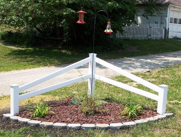Corner Fence - Gardening Yards