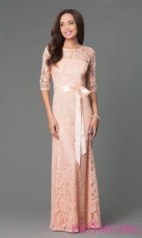 Long Formal Lace Dresses | www.imgkid.com - The Image Kid ...