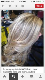 long light ash blonde hair