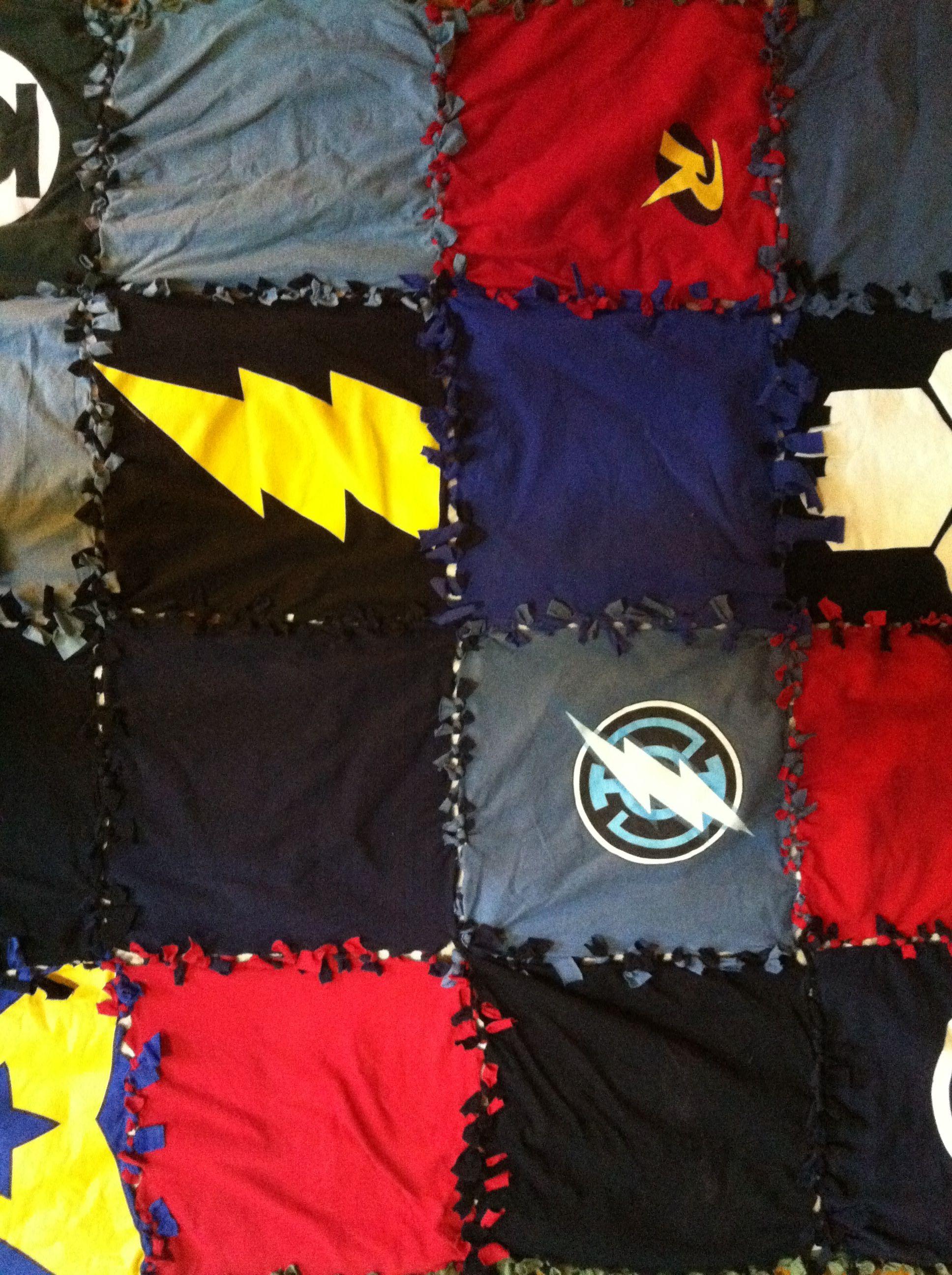 T Shirt Quilt Blanket