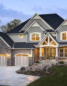Plan hs modern storybook craftsman house with story great room plans and architectural design also rh uk pinterest