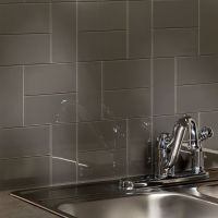 Aspect Backsplash-3x6 Glass Tile in Leather | Tile ...