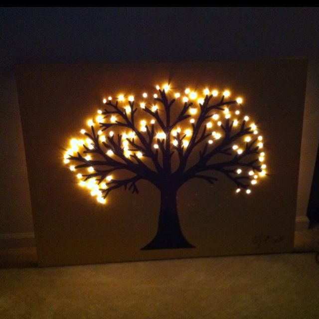 Canvas Art Lights