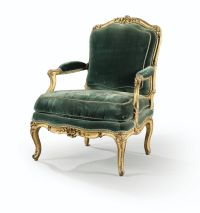 A CARVED GILTWOOD ARMCHAIR, LOUIS XV, | Royal | Pinterest ...