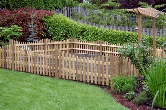 Water Proof Easy Installation Outdoor Use Garden Fence Wood DIY