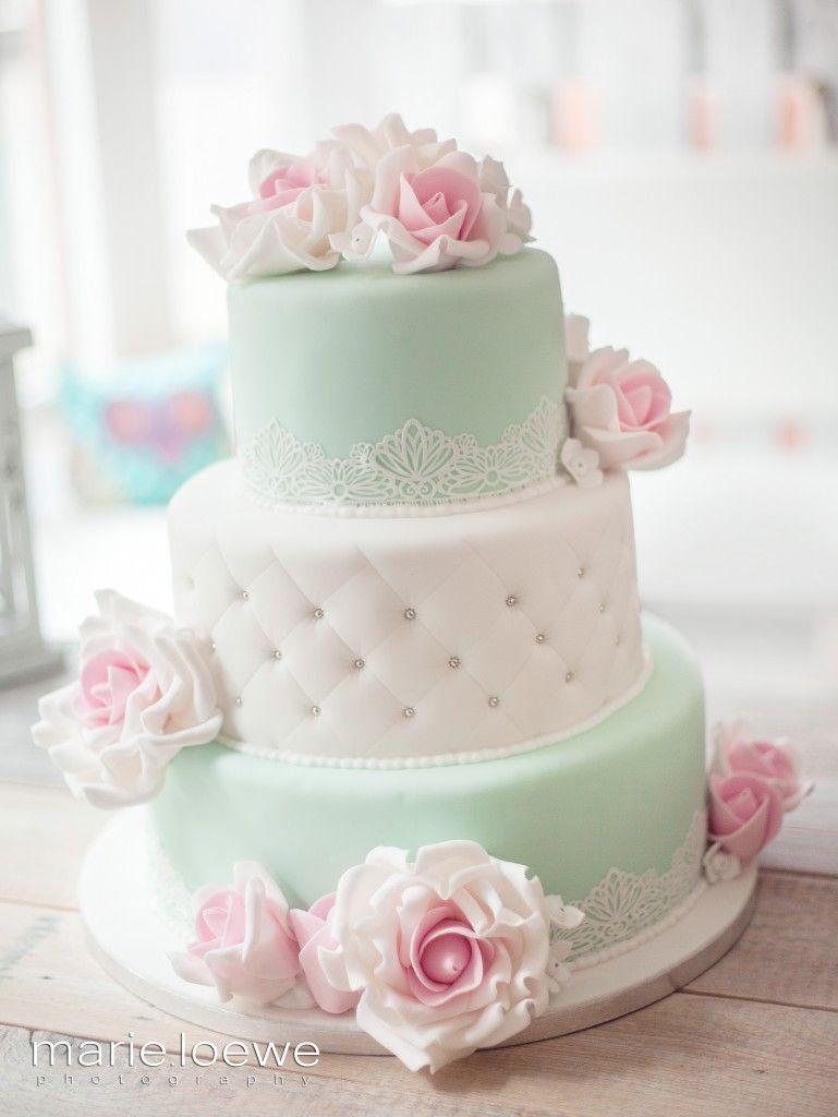 Caf Torten Schmiede  Wunderschne Fondant Torten  Pinterest  Cake Rose cake and Wedding cake