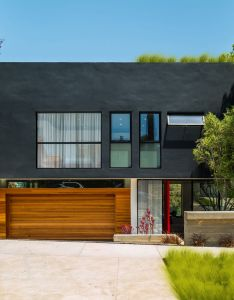 American studio hu mn lab has created  spacious family home in los angeles that appears to jut out from hillside like dresser drawers also coastal california by can accommodate guests rh pinterest