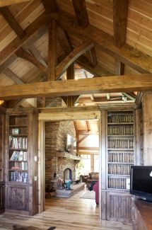 Luxury Log Timber-frame And Hybrid Homes Of 2015