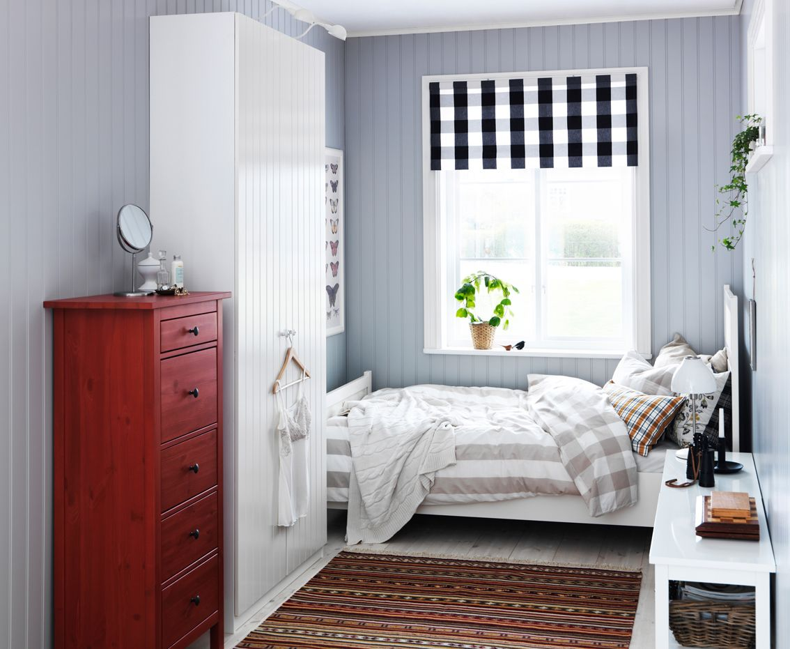 IKEA sterreich Inspiration Schlafzimmer Tr PAX RISDAL Teppich KATTRUP Kommode HEMNES
