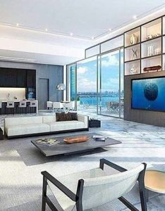 Luxury living room over looking the beautiful ocean also pin by carie saad on architecture houses  want pinterest rh