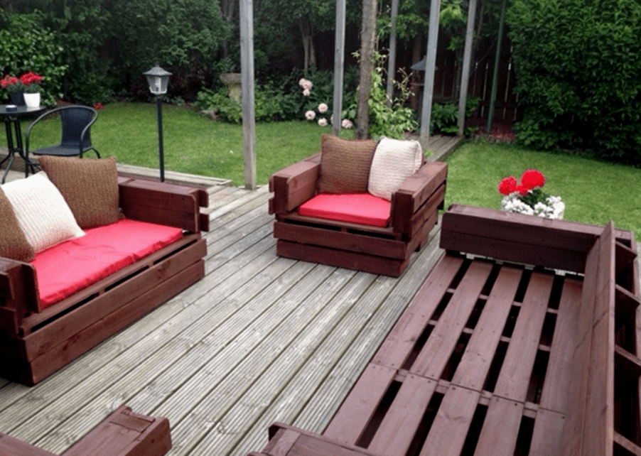 DIY Cheap Garden Furniture Furniture From Pallets Outdoor