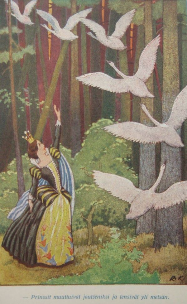 Grimm Fairy Tales Illustrations Art