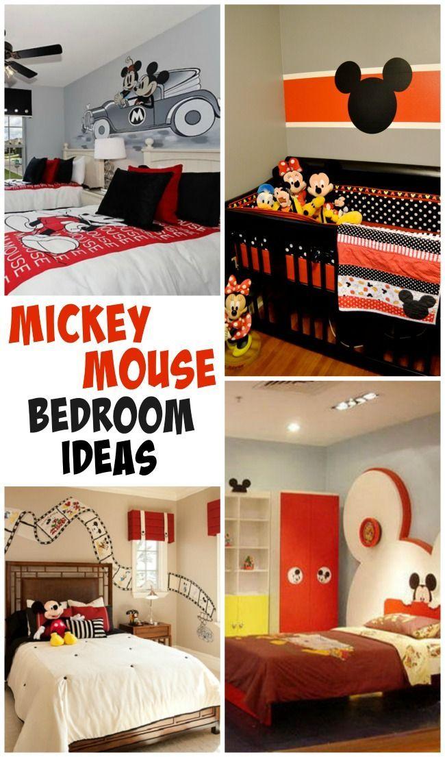 Mickey Room Ideas  Disney Mickey mouse room and Ideas
