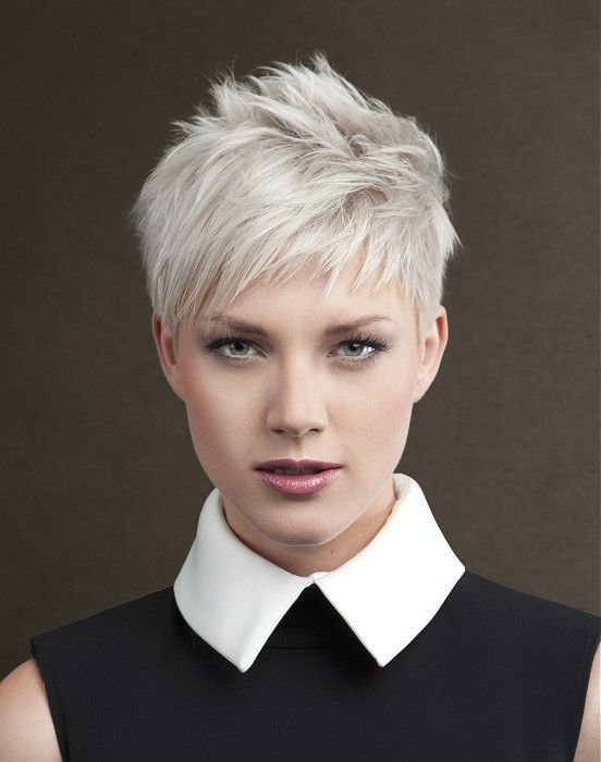 20 Creatively Choppy Hairstyles Are Worth Copying Corto Bianco