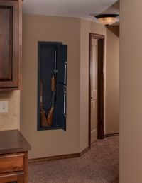 Stack-On Long Gun Wall Safe with Electronic Lock PWS-1555 ...
